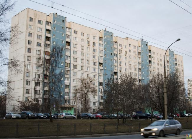 Москва, улица Маршала Катукова, дом 12, корпус 1, Серия П-30 (СЗАО, район Строгино)