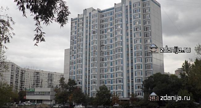 Москва, улица Маршала Катукова, дом 10, корпус 1, Серия П-44 (СЗАО, район Строгино)
