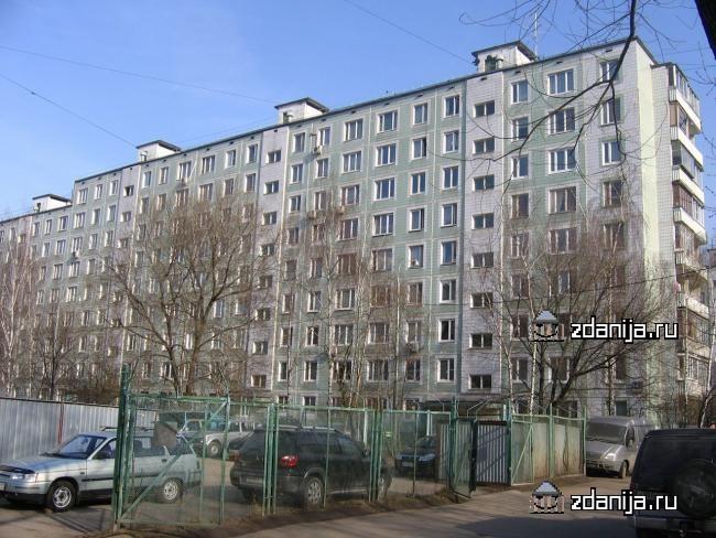 Москва, улица Исаковского, дом 14, корпус 1 (СЗАО, район Строгино)