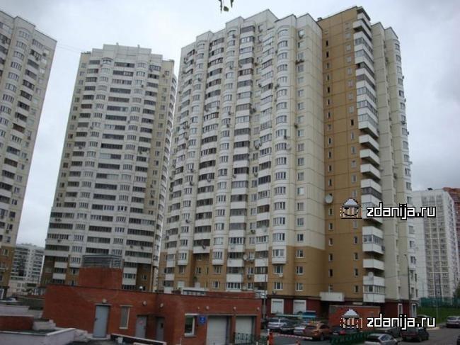 Москва, улица Островитянова, дом 9, корпус 2, (ЮЗАО, район Коньково)