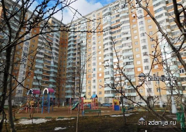 Москва, Солнцевский проспект, дом 10, Серия П-44т (ЗАО, район Солнцево)
