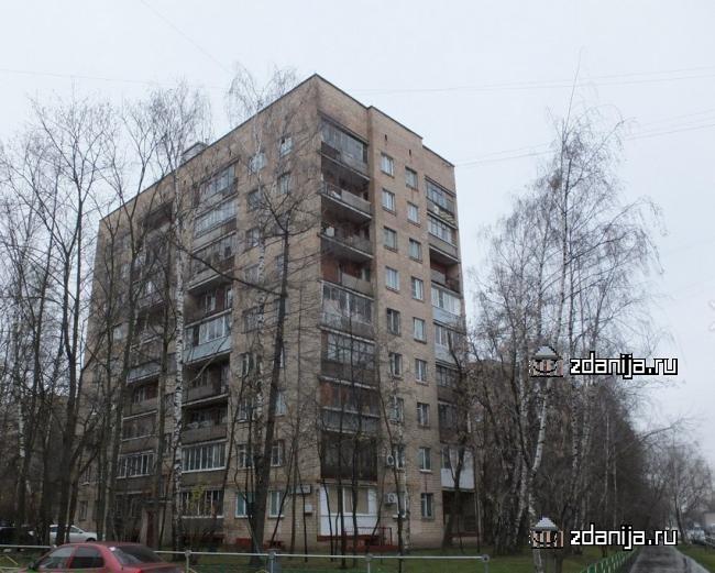 Москва, улица Пивченкова, дом 5 (ЗАО, район Фили-Давыдково)