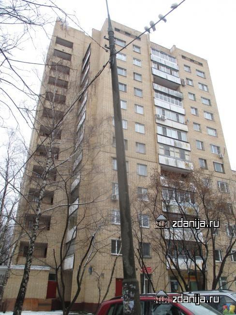 Москва, улица Пивченкова, дом 3, корпус 3 (ЗАО, район Фили-Давыдково)