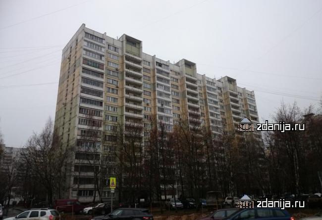Москва, улица Теплый Стан, дом 7, корпус 1, Серия И-491А (ЮЗАО, район Теплый Стан)