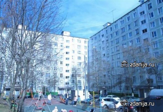 Москва, улица Рокотова, дом 3, корпус 2, Серия: II-49Д (ЮЗАО, район Ясенево)