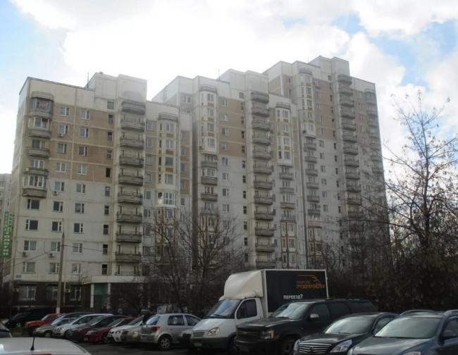 Москва, Ореховый проезд, дом 11, Серия И-1233 (ЮАО, район Зябликово)