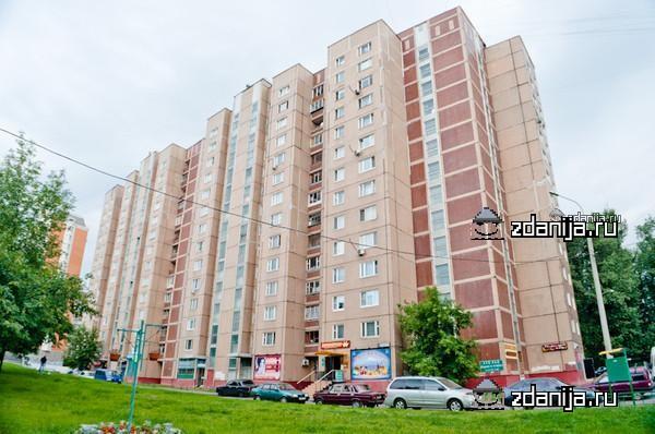 Москва, Ангарская улица, дом 6, Серия П-55 (САО, район Западное Дегунино)
