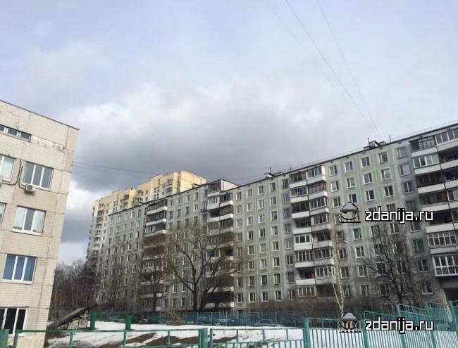 Москва, Голубинская улица, дом 25, корпус 2, Серия: II-49Д (ЮЗАО, район Ясенево)