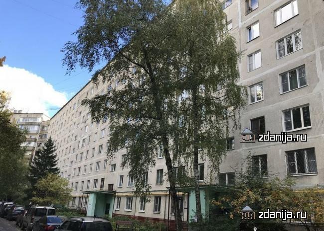 Москва, улица Островитянова, дом 41, корпус 1, Серия I-515 (ЮЗАО, район Коньково)