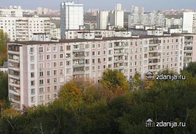 Москва, Строгинский бульвар, дом 13, корпус 3, Серия: II-49Д (СЗАО, район Строгино)