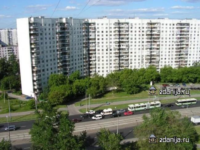 Москва, улица Маршала Катукова, дом 9, корпус 1, Серия - П-3 (СЗАО, район Строгино)
