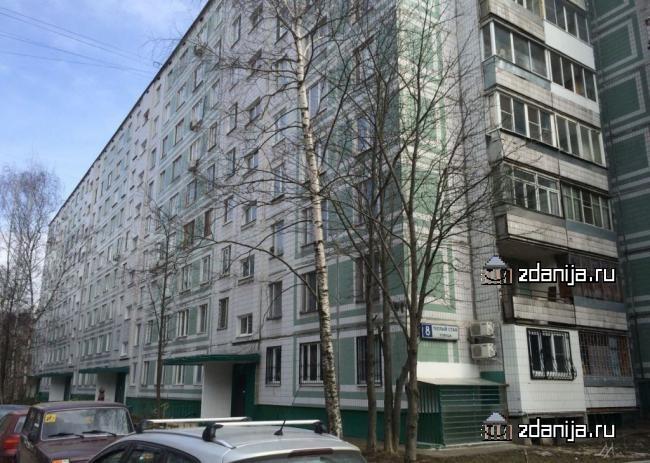 Москва, улица Теплый Стан, дом 8, Серия: II-49Д (ЮЗАО, район Теплый Стан)