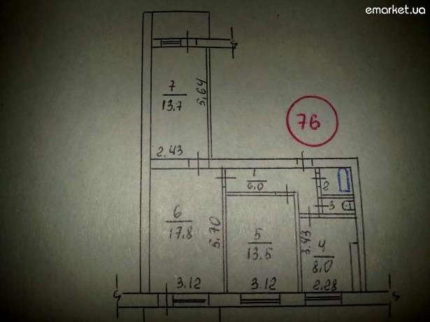Серия 464, Таллинн  помогите найти планировку квартир.