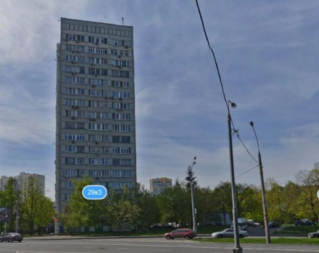 Москва, Ярцевская улица, дом 29, корпус 3 (ЗАО, район Кунцево)