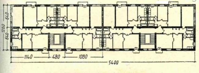 Жилые дома серии II-05 с планировками квартир
