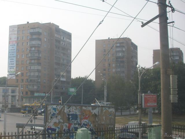 Многоэтажки в Рязани