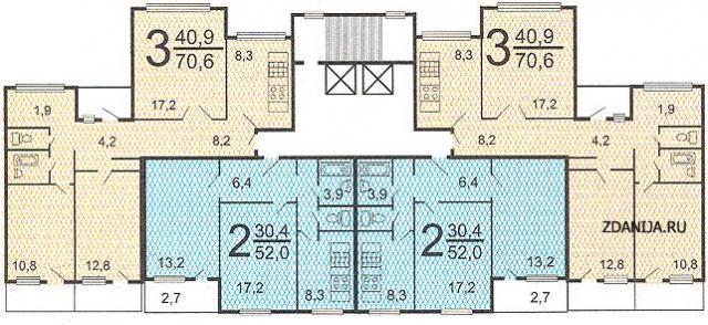 планировкой квартир п55