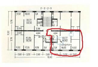 серия 1-464А, перепланировка квартир