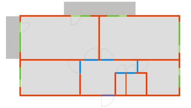 1-464А-17, Казахстан, г.Караганда (отр.адм) Помогите определить тип дома по планировке квартиры