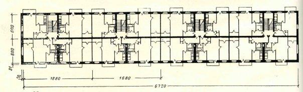 планировка квартир серии 1-438