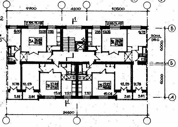планировки квартир в домах серии 87-080(081)