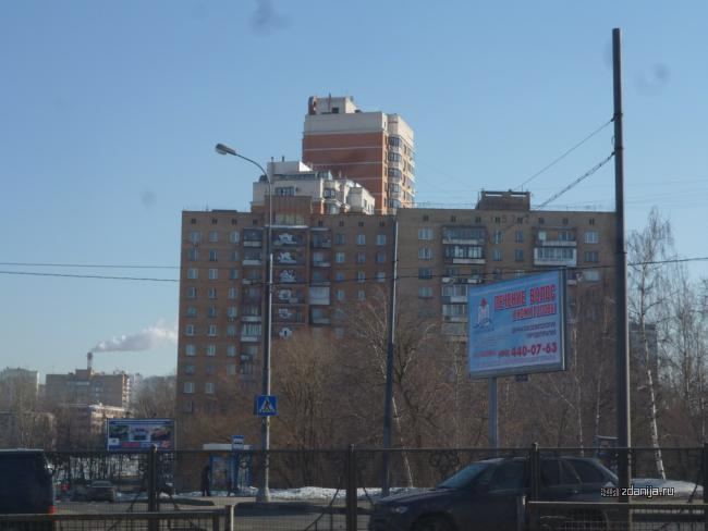 Москва, район метро Кунцевская, что за серия