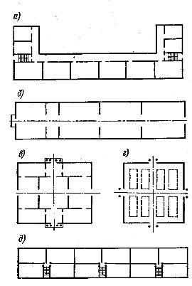 Конструктивная схема здания forum 37