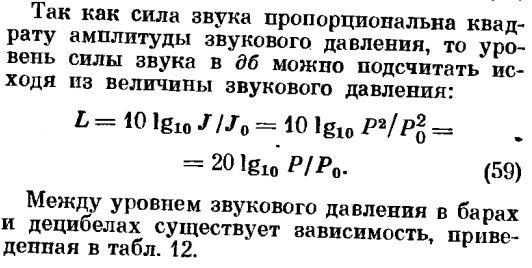 Общие понятия о звуке и его свойствах.формула 59