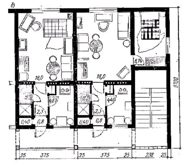 Меридианальная ориентация общежитий