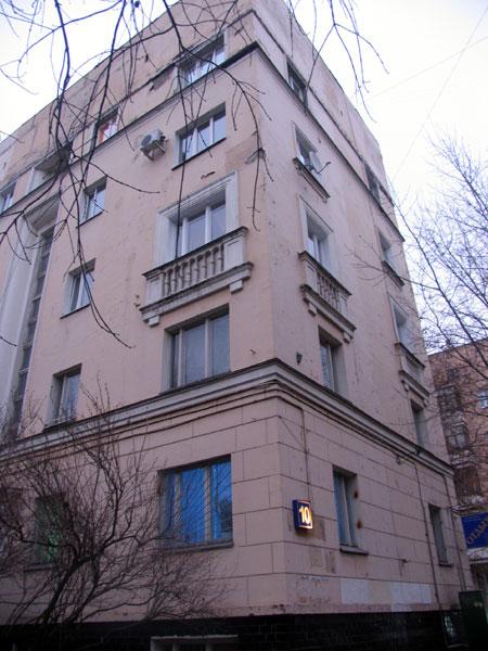 Москва, ул Шухова, дом 10, (Южный Административный Округ, район Даниловский), конструктивизм