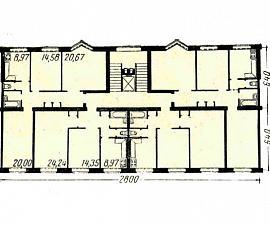 Дом серии СМ-6 (Секции Моспроекта) (отр.адм.) Подскажите что за серия дома