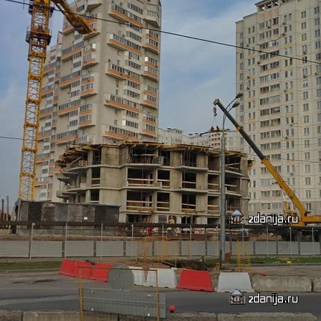 """25-этажная башня-""""стакан"""" в ВАО Москвы,что за конструктив?"""