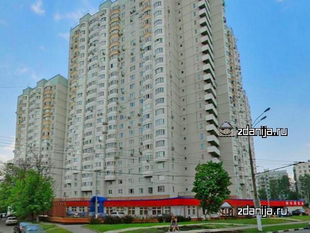 Москва, улица Каховка, дом 18, корпус 1 (ЮЗАО, район Черемушки)