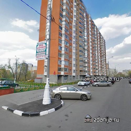 Москва, Высокая улица, дом 7, Серия П-44т (ЮАО, район Нагатино-Садовники)