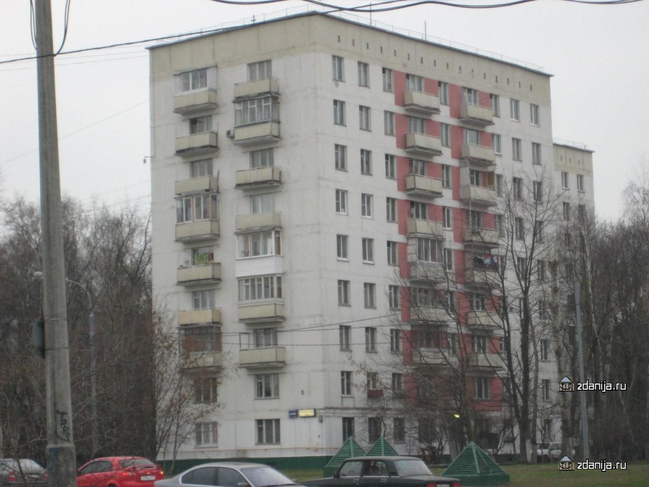 Москва, улица гарибальди, дом 20/29, корпус 2, серия ii-18-0.