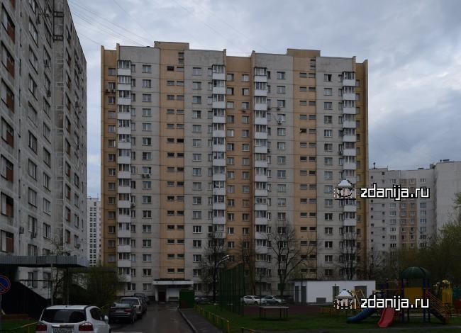 Москва, Ясный проезд, дом 5А, Серия - П-3 (СВАО, район Южное Медведково)