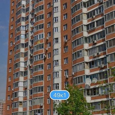 Москва, улица Верхние Поля, дом 49, корпус 1, Серия П-44т (ЮВАО, район Люблино)