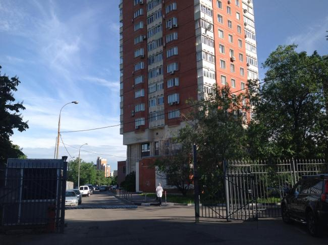 Москва, Молодогвардейская улица, дом 2, корпус 1 (ЗАО, район Кунцево)