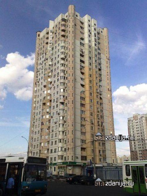 Москва, Мячковский бульвар, дом 1 (ЮВАО, район Марьино)