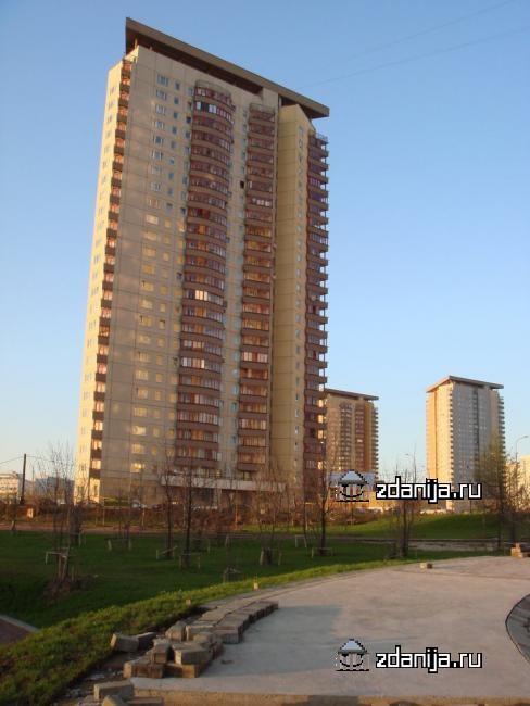 Москва, Никулинская улица, дом 6, корпус 2 (ЗАО, район Тропарево-Никулино)