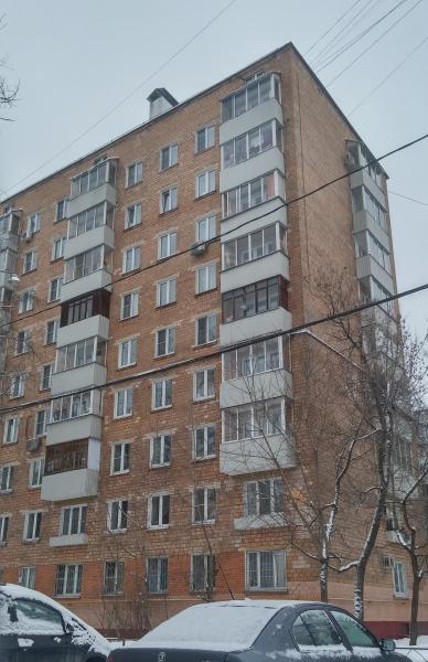 Москва, улица Федора Полетаева, дом 38, Серия: II-29 (ЮВАО, район Кузьминки)