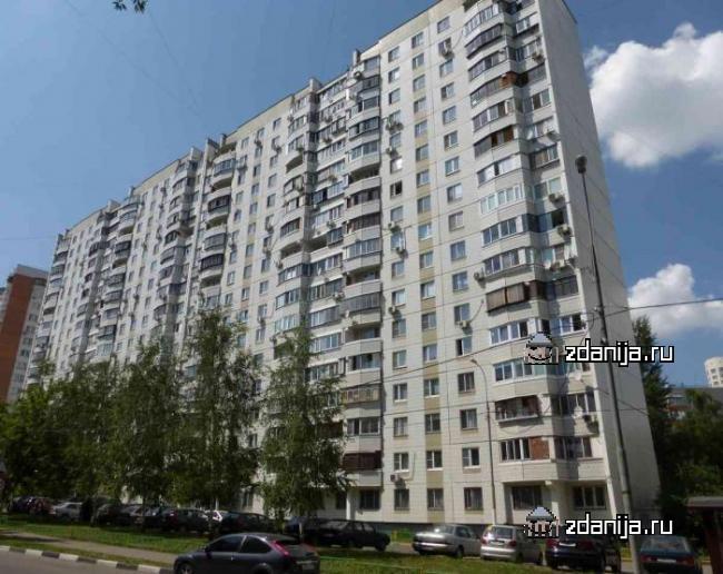 Москва, улица Цюрупы, дом 18, корпус 1, Серия П-44 (ЮЗАО, район Черемушки)