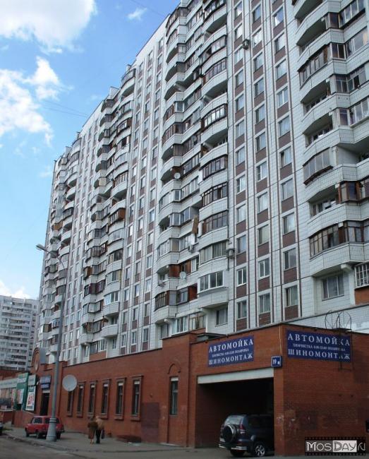 Москва, Братиславская улица, дом 19, корпус 1 (ЮВАО, район Марьино)