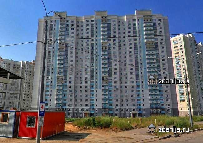 Москва, Саратовская улица, дом 24, Серия п3м (ЮВАО, район Рязанский)