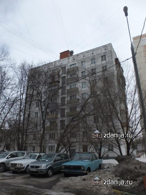 Москва, Нахимовский проспект, дом 59 (ЮЗАО, район Черемушки)