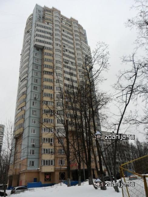 Москва, Балаклавский проспект, дом 20, корпус 1, Серия И-155 (ЮЗАО, район Зюзино)