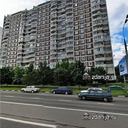 Москва, Балаклавский проспект, дом 10, корпус 3, Серия П-44 (ЮАО, район Нагорный)