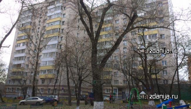 Москва, улица Федора Полетаева, дом 40, Серия И209а (ЮВАО, район Кузьминки)