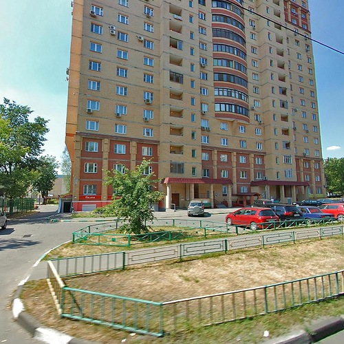 Москва, улица Федора Полетаева, дом 4, корпус 1 (ЮВАО, район Кузьминки)