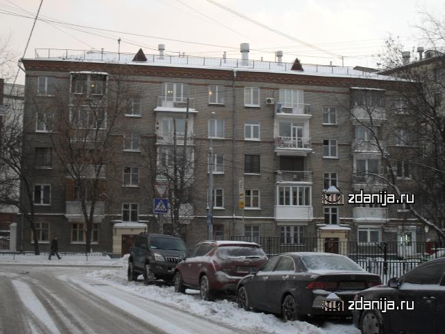 Москва, улица Доватора, дом 17, Серия II-14 (ЦАО, район Хамовники)